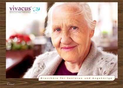 Broschüre für Senioren und Angehörige